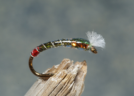 Clear Water Pupa, Epoxy Buzzers, Phil Rowley, chironomid patterns, chironomids